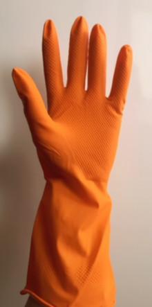 Перчатки DOLONI хозяйственные 100% латекс XL