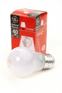 Лампа GE A1 /40W /FR /E27 50mm (Брест)