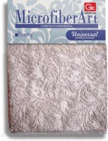GRIFON ART Салфетка из микрофибры, 30×30 см, 1 шт