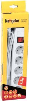 Сетевой фильтр NAVIGATOR 71 861 NSP-05-180-ESC--3х0.75
