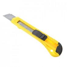 Нож универсальный малярный с сегментированным лезвием 18мм, квадратный фиксатор