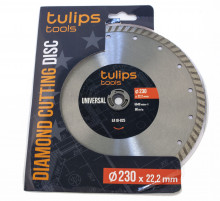 Диск алмазный Turbo Tulips 230мм