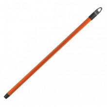 Черенок металлический для метлы с резьбой