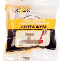 Aviora тефлоновая уплотн. лента 19мм*15м.*0,12мм уп.5/100