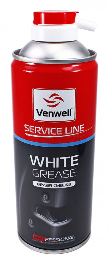 Venwell White Grease белая водоотталкивающая смазка, 400 мл.