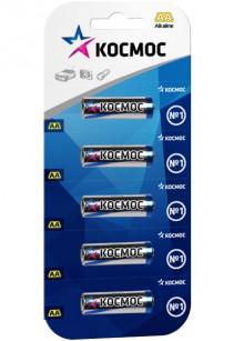 Батарейка КОСМОС LR6 5BL