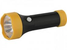 Фонарь ultra Flash 5002-тн ( черный,4led,3xr03)