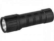 Фонарь ultra Flash 7102-тн ( черный,1led,2xr03)