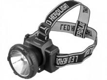 Фонарь ULTRA FLASH LED 5364 (налоб.акку.LED. 0,5W)