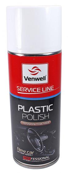 Venwell New Car полироль пластика, матовый эффект, 400 мл.