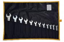 Набор ключей Кгд 10 (8х9, 8х10, 9х11, 10х12, 12х13, 13х14, 14х17, 17х19, 19х22, 22х24мм) тетроновая
