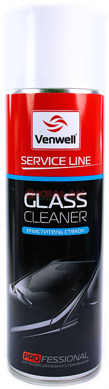 Venwell glass cleaner очиститель стекол пенный, аэрозоль, 500 Мл