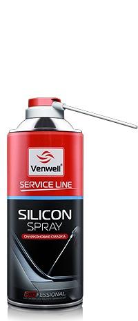 Venwell silicon spray силиконовая смазка, 500 мл.