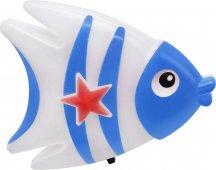 Ночник светодиодный In Home  Nla 05-fb Рыбка синяя С выключателем 230в