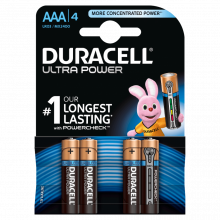 Батарейка DURACELL LR03 UltraPower BL-4 ( MN2400 )